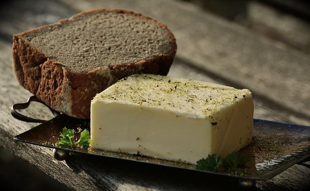 chléb a máslo