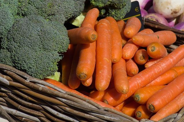 Zelenina s obsahem vitamínu C